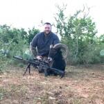 Trophy Black Hawaiian Ram Hunt texas