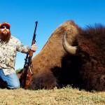 Bison Buffalo Hunt in Texas